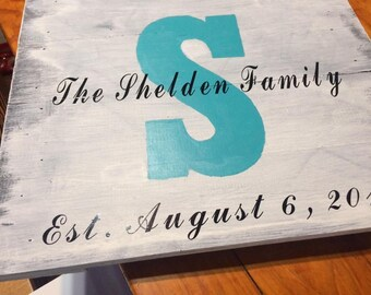 Wedding or marriage dates on pallet boards