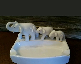 Elephant ashtray Japan