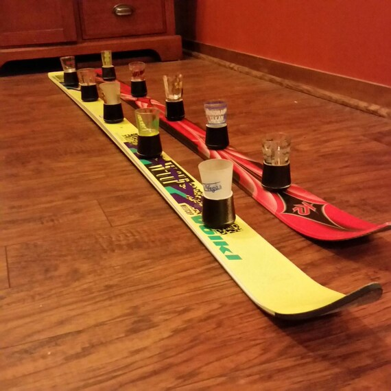 5 Person Shotski With Removable Shot Glasses For Easy Cleaning
