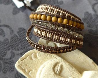 Bracelet Wrap Marceau #6
