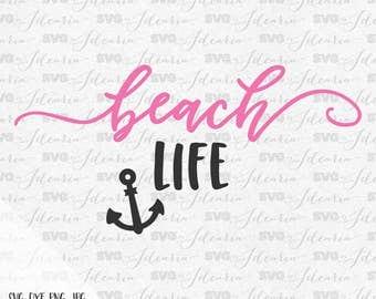 Beach Life Svg Summer Svg Svg Sayings Summer Quotes Summer Beach svg Svg Summer Silhouette Cricut Svg Files Summer Svg Designs Svg files