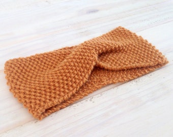 Gabriela wool headband   Color Gold