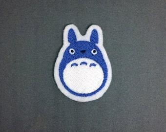 Chu Totoro - Studio Ghibli - Embroidered Premium Patch / Iron On