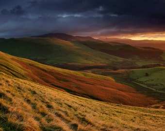 Skiddaw from Longlands Fell  --  Landscape Photography by M J Turner