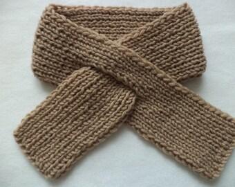 SCARF knitted baby wool Steckschal Merino Wool shawls wool scarf