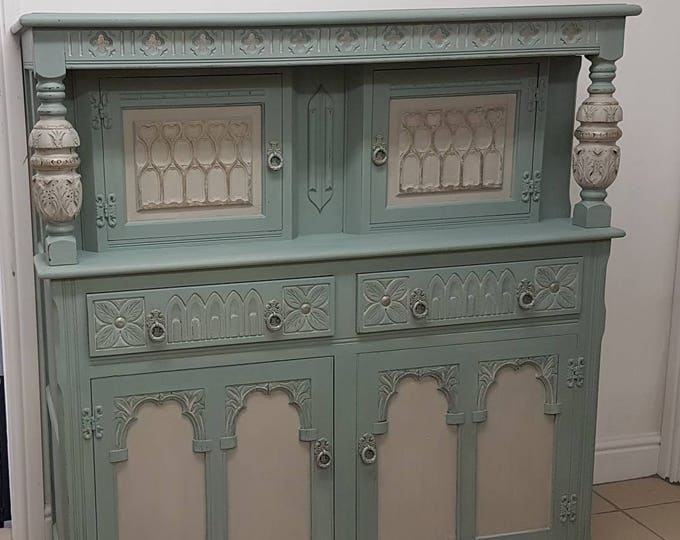 Old Charm Court Cupboard