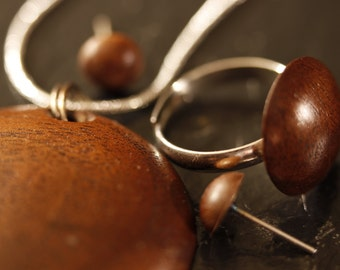 Jewelry set in Walnut