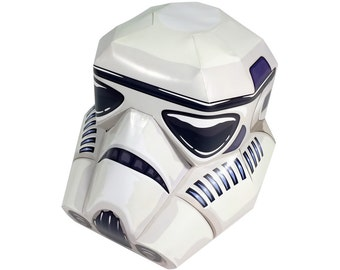 how to make a star wars stormtrooper helmet papercraft