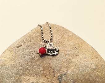 Sterling Silver SweetHeart SOUL Necklace