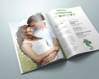 Wedding Invitation Booklet