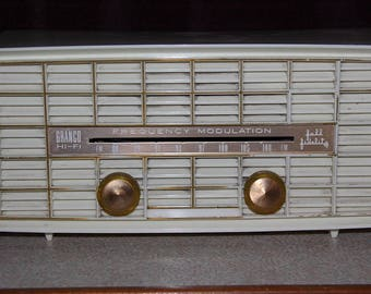 Vintage 1959 Granco Radio Model 611 HI-FI Frequency Modulation Mid Century