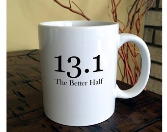 13.1 Runners Half Marathon Coffee Mug | Runner Mug | Marathon Runner | Athletic Mug