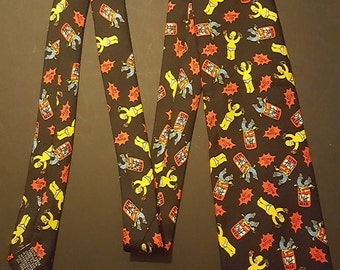 Homer Simpson Get Duffed silk necktie, Official fox product