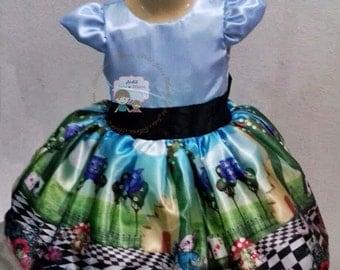 ALICE IN WONDERLAND dress Alice in Wonderland costume Alice in Wonderland baby costume Alice in Wonderland Halloween costume