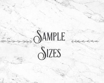 l Sample Sizes l