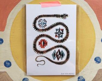 Snake - A5 Print