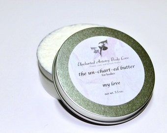 Natural body butter, Organic Lotion, Chocolate Body Butter, Whipped Body Butter, Organic Body Butter -4oz Body Butter, Hydrating Body Butter