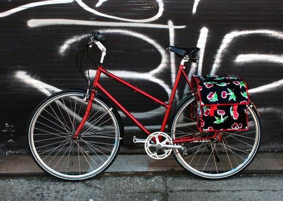 bunte fahrradtasche f r gep cktr ger satteltasche. Black Bedroom Furniture Sets. Home Design Ideas