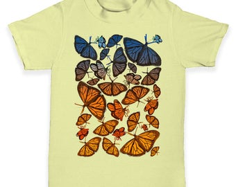 Group Of Butterflies Baby Toddler T-Shirt