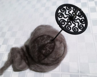 Medusa Lace Weight Drop Spindle (Midnight)