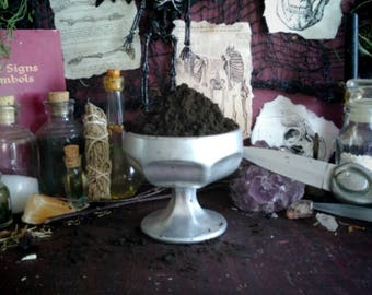 MAGICKAL POWDERED INCENSE - Love Spell, Money Spell, Protection, Healing, Uncrossing