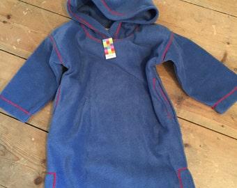 Cosy fleece kids upto 2 years djellaba style robes