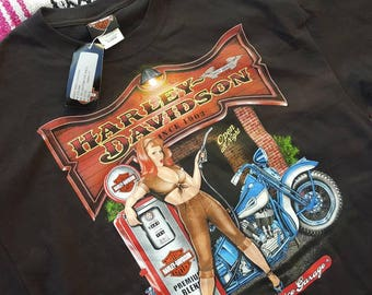Harley Davidson Motorcycle Shirt Size XL New Braunfels Texas NWT