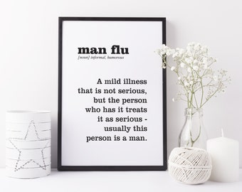 Gift For Men, Funny Wall Art, Funny Gift, Wall Art Print, Home Decor, Funny Art, Sarcastic Art, Wall Decor, Ironic Art, Gift For Friends
