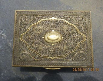 Rare Art Nouveau Jewelry Box by Erhard & Sons Germany 1915