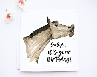 Smile...it's your Birthday - Birthday card