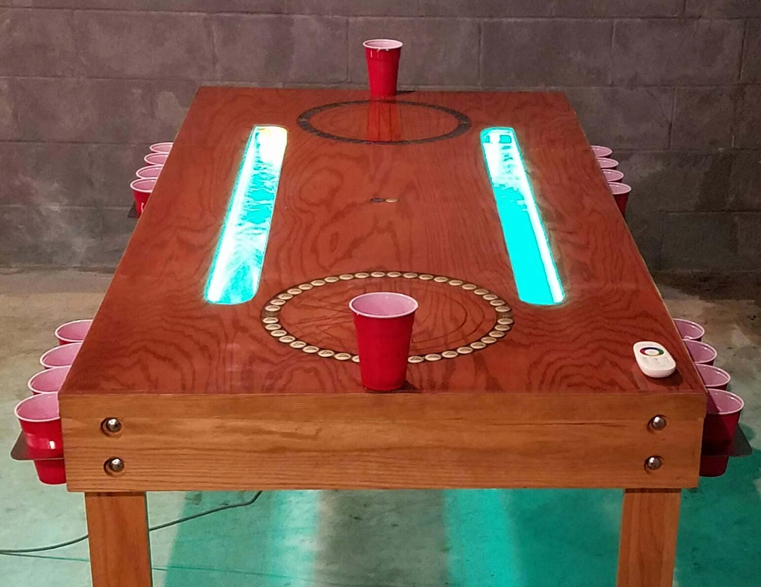 Custom Beer Pong Table Furniture Drinking Game Gaming