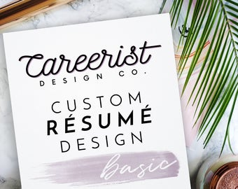 Recent Grad Resume Excel Custom Resume  Etsy Latex Resume Tutorial Word with Assistant Property Manager Resume Excel Custom Resume Resume Template Basic Personalized Resume Design Modern  Resume Package Custom Types Of Skills For Resume Pdf