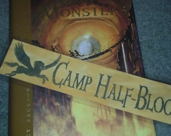 Camp Half-Blood Watercolor Bookmark