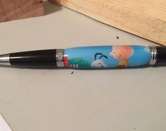 Charlie Brown and snoopy pen