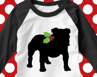 Bulldog svg, dog christmas svg, Georgia bulldogs svg, dog svg, christmas  svg, dog dxf, silhouette, cricut, dog cut file,  of georgia svg