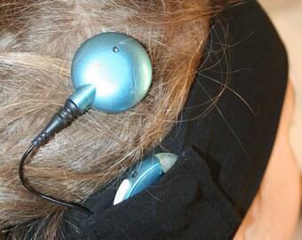 Bandeau de sport Enfant pour implant cochléaire - Child sport headband for cochlear implant