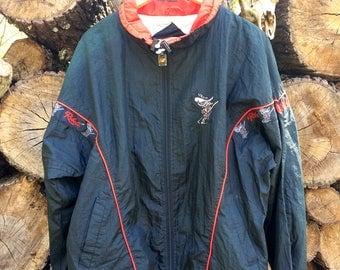 Vintage 90s UNLV Rebels Nylon Jacket Sz L USED