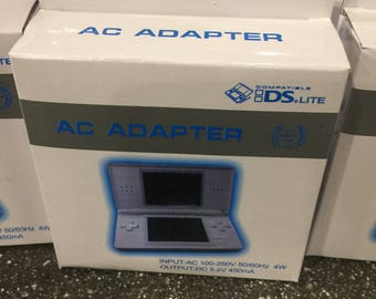 Brand New Nintendo DS Lite Charger Power Adapter Cable NDSL Console System