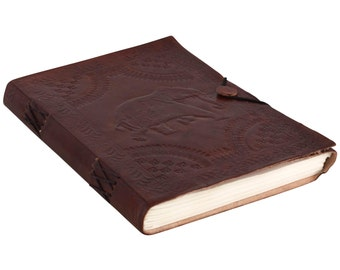 Gusti of leather 'Bailey' genuine leather notebook