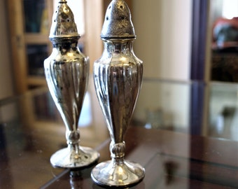 Vintage La France 616 SP Co. Salt and Pepper Shakers – Silver Plated made in USA