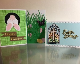 Mix and Match Easter Greeting Cards