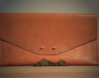 Horween Leather Clutch - D