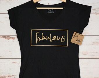 Fabulous Women's T-Shirt, V-Neck, Tank, Hoodie, Mother's Day, Teenage Girl T-Shirt, Birthday Gift, Womens Clothing, Women's Tee, Graphic Tee
