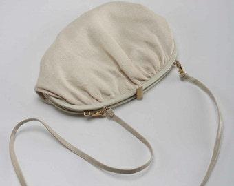 Vintage 1970's Linen Purse