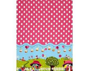 Michael Miller Easter in Gnomeville Woven Cotton Fabric - By the Yard