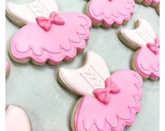 Ballerina Tutu Sugar Cookies