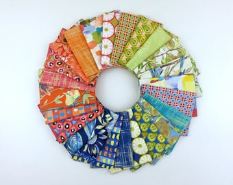 Valencia, by Laura Gunn, for Michale Miller, FQ Fat Quarter, fabric bundle