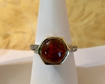 USA-FREE SHIPPING!!  Fancy Sterling Silver Ring