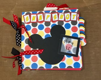 Disney premade 6x6 scrapbook album - ready for your pictures - FREE shipping