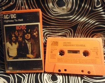 1979 fr tape AC/DC orange Highway to hell